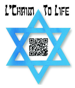 L'chaim  QR Stickers web thumbnail