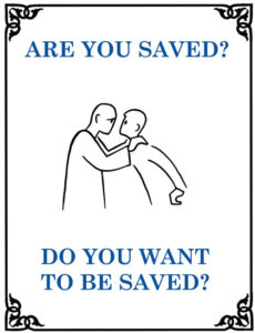 Are You Saved tract.indd