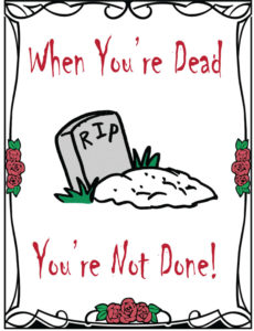 When Youre Dead tract.indd